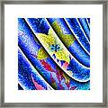Flower Flux Framed Print