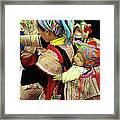 Flower Hmong Baby 03 Framed Print