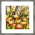 Flower - Iris - Mildred Presby 1923 Framed Print by Mike Savad