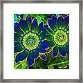 Flower Power 1446 Framed Print