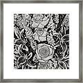 Flowers Abstract Framed Print