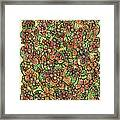 Flowers And Foliage  Framed Print
