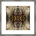 Flowers And Trees Framed Print