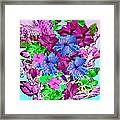 Flowers Designed Just For You Framed Print