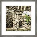 Flowers For Detroit Framed Print