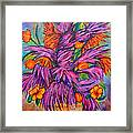 Flowers Of Passion Framed Print
