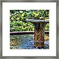 Flowing Water Framed Print