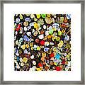 Colorful Gum Framed Print