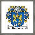 Fogarty Coat Of Arms Irish Framed Print