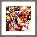 Folk Dancer Framed Print