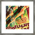 Footlight Parade, Dick Powell, Joan Framed Print