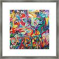 For He Nourishes And Sustains All Framed Print
