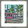 For Myers Beach Restaurant Framed Print