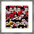 For The Mickey Mouse Lovers Framed Print