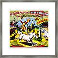 Forepaugh And Sells The Orfords Framed Print