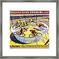 Forepaugh And Sells Wild Wheel Whirl Wonders Framed Print