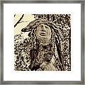 Forest Gardian Framed Print