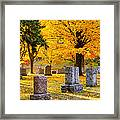 Autumn At Forest Hill Framed Print