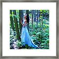 Forest Nymph Framed Print