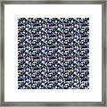 Forget Me Not Flowers Framed Print