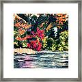 Fort Toulouse Tallapoosa River Flair Framed Print