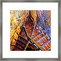 Fortress Steps Framed Print