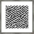 Four Leaf Clover Maze  Framed Print
