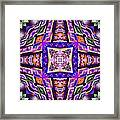 Fractal Ascension Framed Print by Derek Gedney