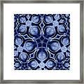 Fractal Floral Pattern Framed Print