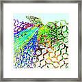 Fractal - Hummingbird Framed Print