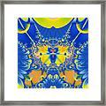 Fractal Owl Framed Print