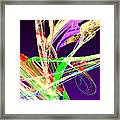 Fractal - Pussy Willows Framed Print