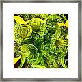 Fragile Flowers Palm Springs Framed Print