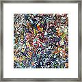 Fragmenting Heart Framed Print