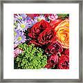 Fragrant Bouquet Framed Print by Paulette Maffucci