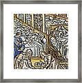 France: Hospital, C1500 Framed Print