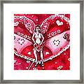 Free As A Valentines Love Framed Print by Shana Rowe Jackson