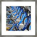 Free Bicycle System In Melbourne Australia Framed Print