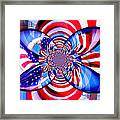 Freedom Abstract  Framed Print