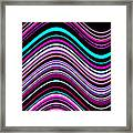 Frequencies 1 Framed Print
