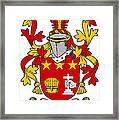 Friel Coat Of Arms Irish Framed Print