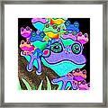 Frog Family Too Framed Print