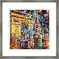 From Moscow To Paris Framed Print