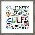 From The Gulfs Of Night Framed Print