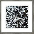 Frost Flakes On Ice - 11 Framed Print