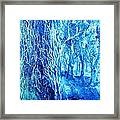 Frosted Forest  Framed Print