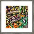 Fruit Market Framed Print