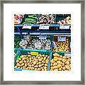 Fruits 'n' Roots 3 Framed Print