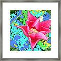 Fuchsia Tulip By M.l.d. Moerings 2012 Framed Print