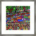 Fun Beach Framed Print